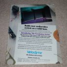 Velodyne F-1500,1200,1000 Foundation Series Ad, 1991