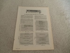 Rotel RX-600a Receiver Review, 2 pgs, 1974, Full Test