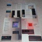 Mission 8 pg Brochure, 1986,Cyrus,Freedom,Argonaut,700
