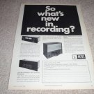 Altec 9845 speaker, 9473 x-over,9477a amp Ad from 1969