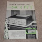 Scott Ad, 1956, Stereo 330b, Specs, Article, Color Ad