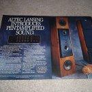 Altec Lansing ULTIMATE! Bias 550 Ad fr 1988,2 pgs, #1