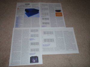Acurus 200x3 Amplifier Review, 4 pgs, 1995, Full Test