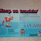 Empire QUAD Cartridge Ad,4000,2000 Series,Specs,Article