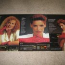 Akai 3 page AD from 1984 VCR,RECEIVER,CD PLAYER, girls
