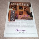 Mirage HDT Speaker Ad from 2000, beautiful!