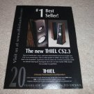 Thiel cs2.3 Speaker Ad from 1998