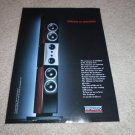 Dynaudio Evidence SPeaker Ad from 2000, RARE!!