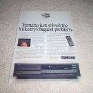 Yamaha CDX-910u Cd Player Ad from 1988, beautiful!