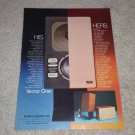 Jennings Contrara Speaker Ad,1976,color,Article, RARE!