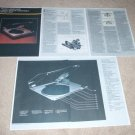 Phase Linear 8000 II Turntable Brochure, 1979, 5 pgs