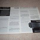 Parasound HCA-200 Amp Ad from 1992, 2 pages, article