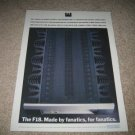 Musical Fidelity F18 Tube Amp Ad from 1994,HIGH END!