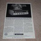 Scott 382 Receiver Ad, 1966, Specs,Article, Rare Ad!