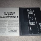 Mistsubishi, The System Ad, 1977, Speakers, Amps, Pre