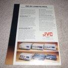 JVC KD-85,65,55,25,1770II,1636II,10 Cassette Ad 1978