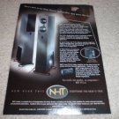NHT VT2.4 Speaker Ad from 2000, HIGH-END!