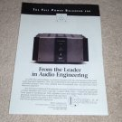 Krell FPB 200 Amplifier Ad from 1997, Beautiful!