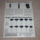 Dynaudio Speaker Ad,1991,Xenon,Myrage,MDY-3,Specs,Info