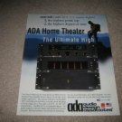ADA Cinema Reference Pre-Amp Ad from 1999, MPA 501 amp