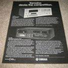 Yamaha TC-720,TC-920B High-End Cassette Deck Ad fr1980