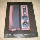 Legacy Focus Speaker Ad from 1992,mint! Amazing!