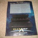 MFSL UltraAmp Ad from 1992,Rare! Mobile Fidelity AMP