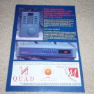 QUAD 77 Preamp Ad,1995,Article,Very Rare! QUADLINK