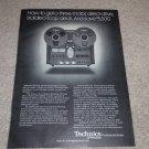 Technics RS-1500US Open Reel Ad,1977,specs,article