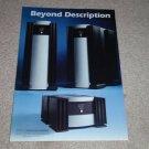 Mark Levinson 333,33 Power Amplifier Ad,1995, Frame it!