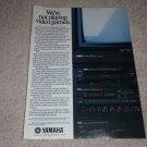 Yamaha YV-1000 VHS,YM-950 tv, R-9 Rec,SR-30 Ad 1985