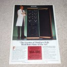 Polk SDA SRS Ad from 1985, color, Beautiful! Rare