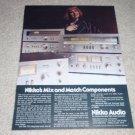 Nikko Ad, NA-550,850,750  Amplifier,NT-850 Tuner,specs
