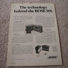 BOSE 901 Series I Speaker Ad from 1973