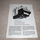 Shure V15 Type 2 Cartridge Ad from 1968,RARE!!