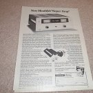 Heathkit Super Amp Ad from 1975,AA-1640,specs,article