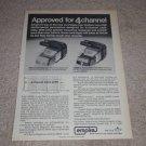 Empire 999ve,1000ze/x Cartridge Ad, 1972, Article,Specs