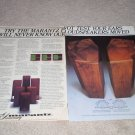 Marantz Speaker Ad, 1978,2 pages, color, article,RARE!