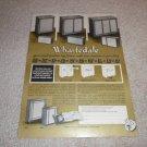 Wharfedale 1 page Ad,w90,w70,e35,e45,e65 from 1964