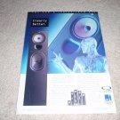KEF Q Series Uni-Q Q65 Speaker Ad from 1996