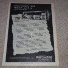 Kenwood KT-7001 Receiver Ad, 1973,Article, Info,1 pg