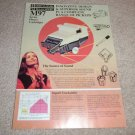 Shure double sided Ad from 1975, M97he,-M97AH NICE!