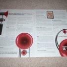 AvantGarde Audio, EXOTIC, 2 page Ad, Uno,Trio,Duo 1999