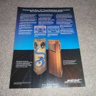 Bose 401 Speaker Ad from 1988, beautiful! Rare Ad!