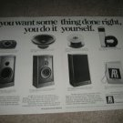 AR Speaker AD from 1981,AR28,2 pages