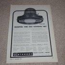 Pioneer PAX-16a,Pax-20a,e,specs, Speaker Ad,1960,1st !