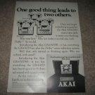 Akai GX-630DSS,630DB,Open Reel Ad from 1975