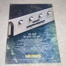 Audio Research LS3 Preamp Ad, 1992, Article,Tube Preamp