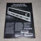 Pioneer Ad, 1971, SX-727,828,626,525, Article, Nice Ad!