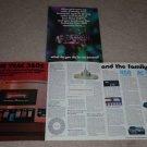 Teac 360s,450,AC-9 Cassette Brochure,6 pgs,1973,Article
